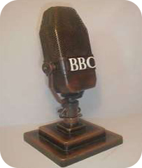 old radio microphone