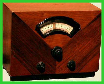 old time valve radio